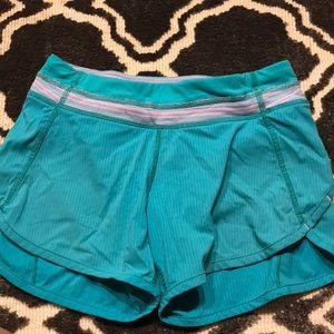 Ivivva blue size 8 athletic shorts
